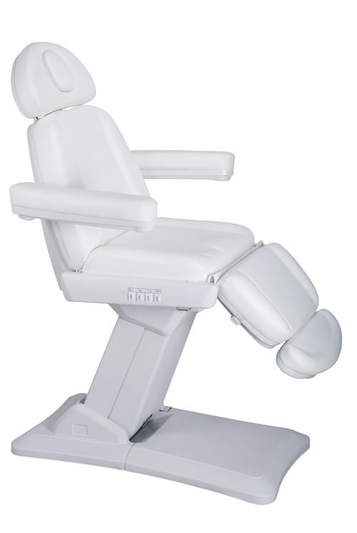 White electrical treatment chair