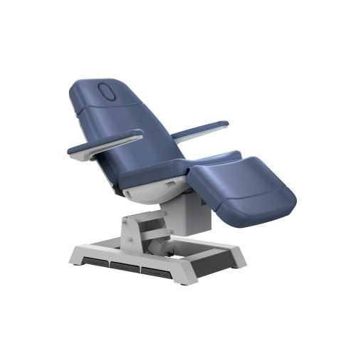 Blue heavy duty facial bed and chair